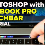 Macbook Pro Touchbar Photoshop Tutorial