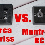 LensVid Exclusive: Quick Release plates – RC2 vs. Arca Swiss