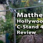 LensVid Exclusive: Matthews Hollywood Pro C-Stand 40″ Review