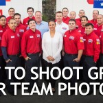 How to Shoot Company Team Photos