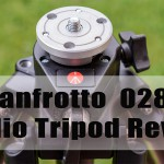 LensVid Exclusive: Manfrotto 028B Studio Tripod Review