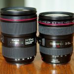 Old vs. New: Canon EF 24-105mm f/4 IS USM Lenses