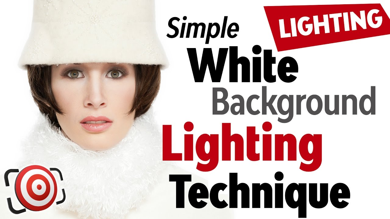 White Background Lighting Technique with a Softbox for Tight Spaces