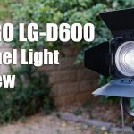 Ledgo LG-D600 LED Fresnel Light 5600K Review