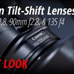 Canon Introduces 3 Tilt Shift, 85mm f/1.4 and EOS M100 Mirrorless Cameras