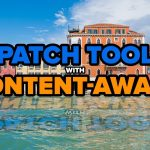 Advanced Patch Tool with Content-Aware in Photoshop