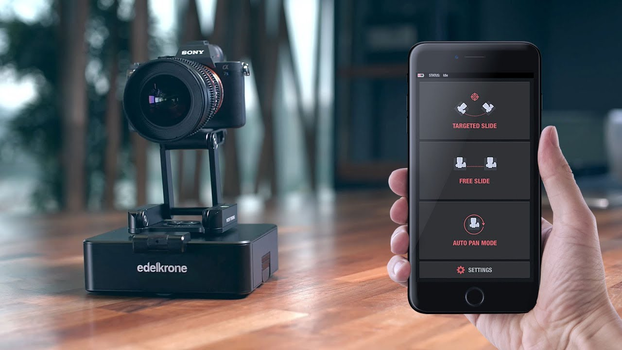 CamRanger Adds a Wireless Motion Control Camera Option - LensVid