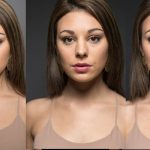 Shaping a Model's Face with a Single Light