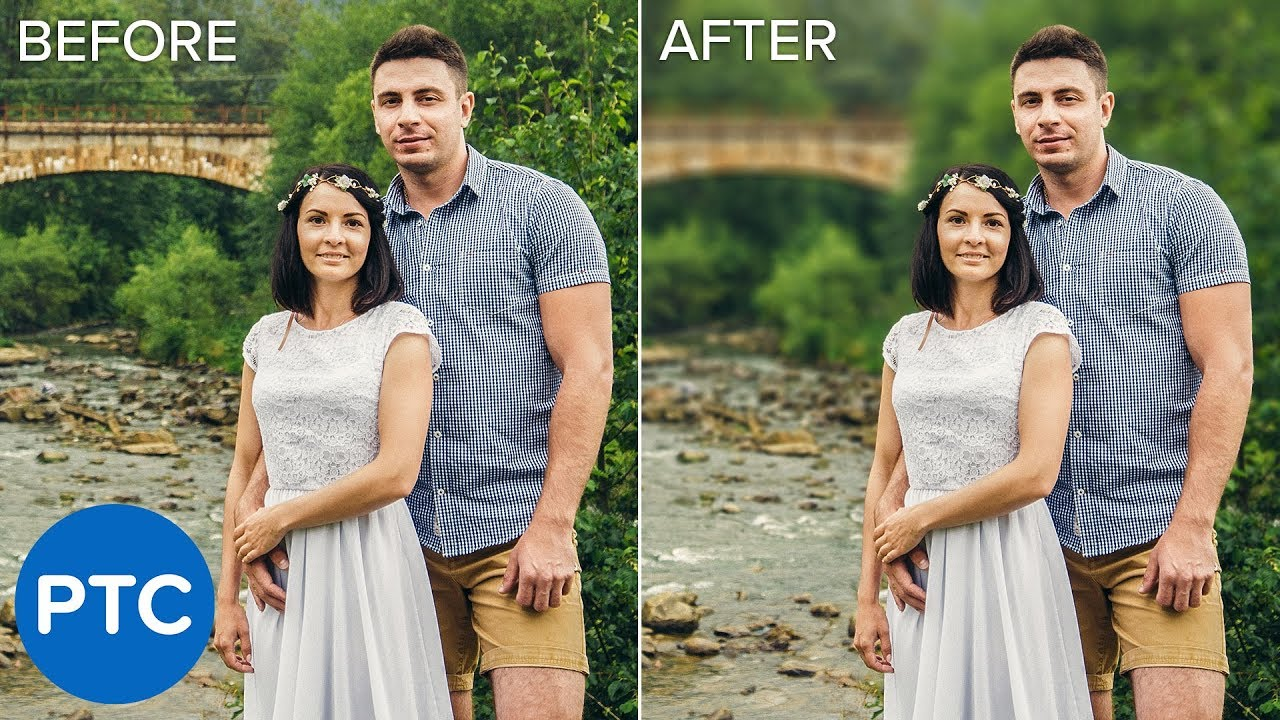 How To Blur Backgrounds In Photoshop Lensvid