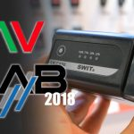 Swit Showcase Small V-Mount Batteries and Wireless DMX (NAB 2018)
