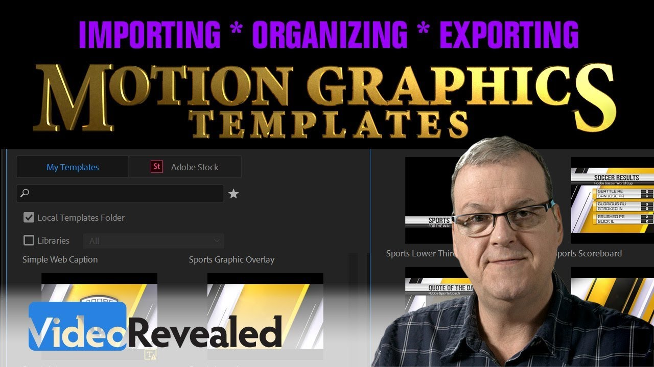 Mastering Motion Graphics Templates In Premiere Pro LensVid - Premiere pro motion graphics templates