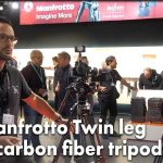 First Look: Manfrotto Twin Leg Carbon Fiber Tripods (Photokina 2018)