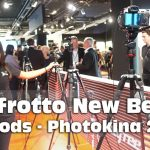 Manfrotto Befree Tripods Line Up (Photokina 2018)