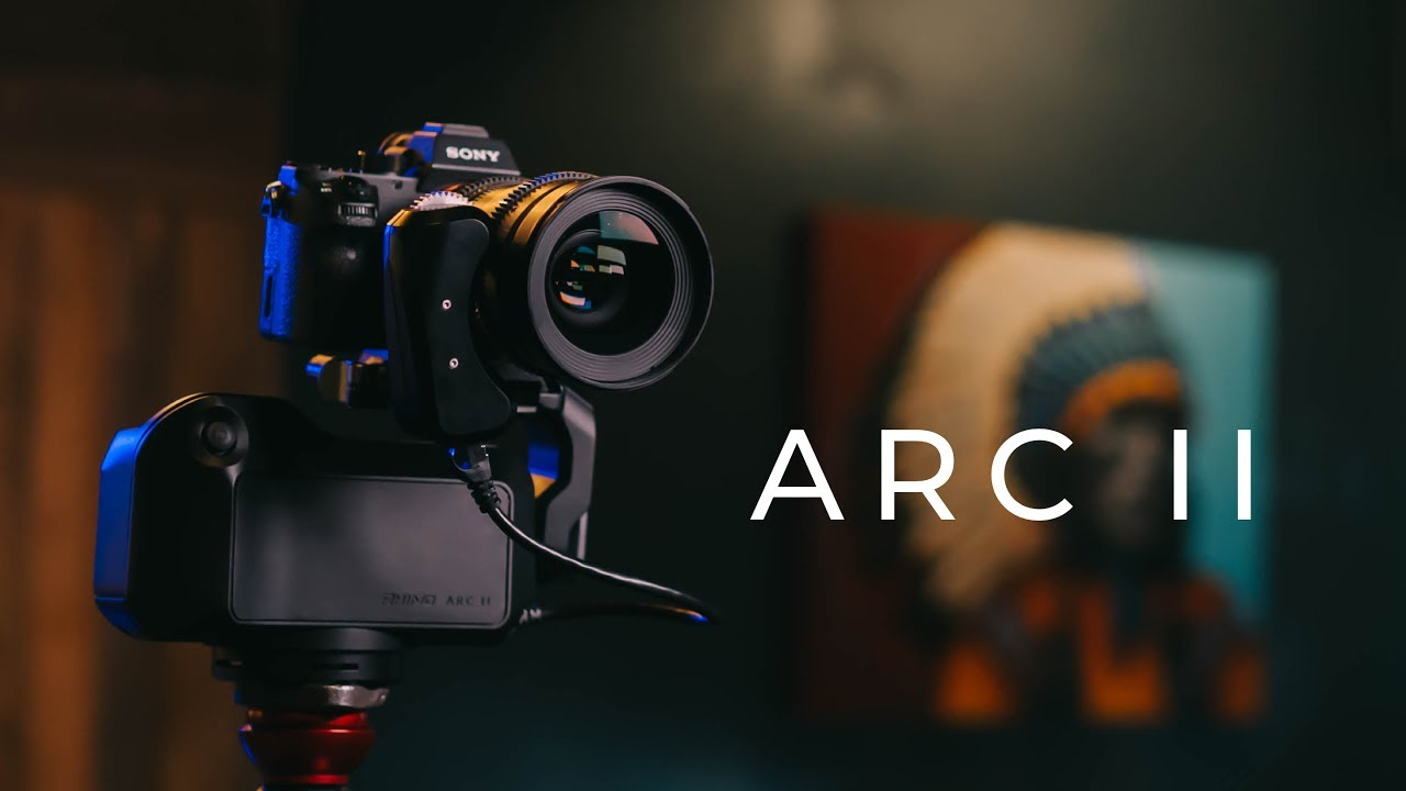 Rhino Arc II the 4 Axis Robotic Camera Assistant