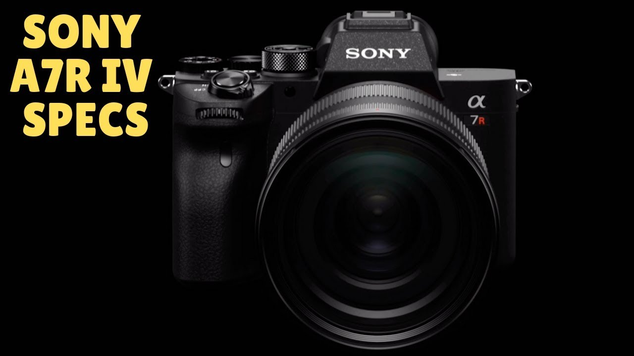 Sony Announce the A7R IV - a 61MP Monster Full Frame Camera