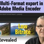 Using Adobe Media Encoder for Multi-Format Export Videos from Premiere Pro