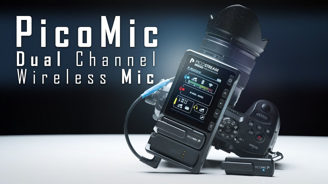 PicoMic Dual Wireless Mic Hands on Review