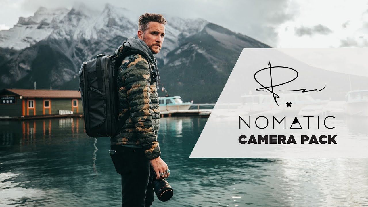 Peter McKinnon Teams up with Nomatic To Create the Ultimate Photo Travel Backpack