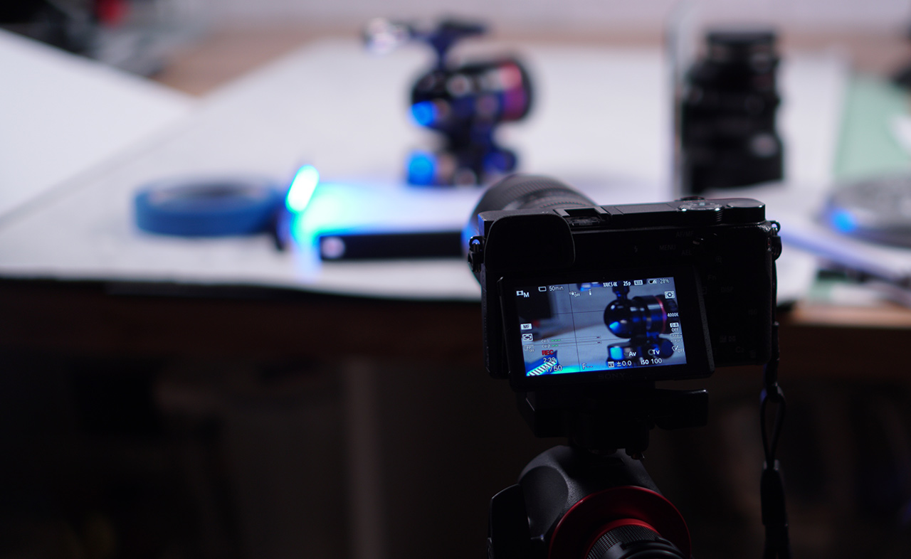 Using a Lumee during a product shoot