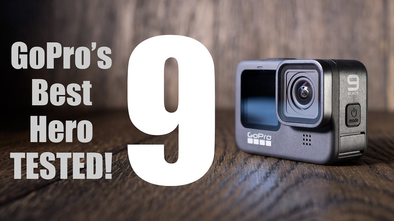 This is the GoPro Hero 9 Black, featuring a front colour ...  |Gopro Hero 9