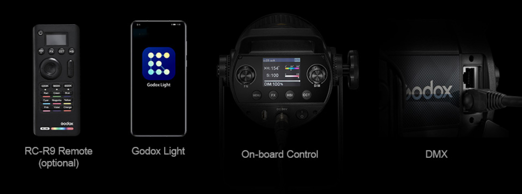 godox SZ150R remote and app