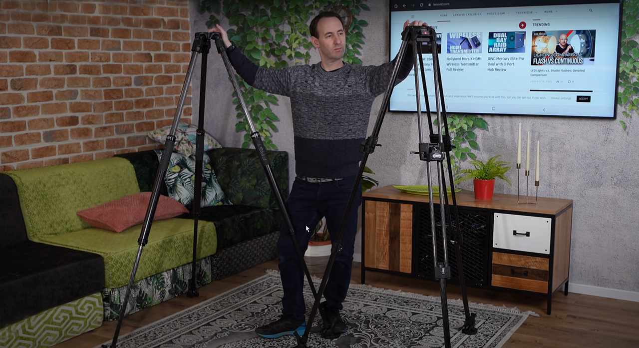 The Manfrotto 635 & 645 Fast Video Tripods
