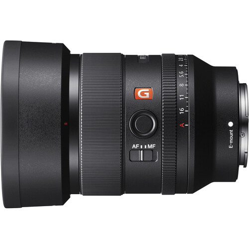 Sony FE 35mm f/1.4 GM with hood