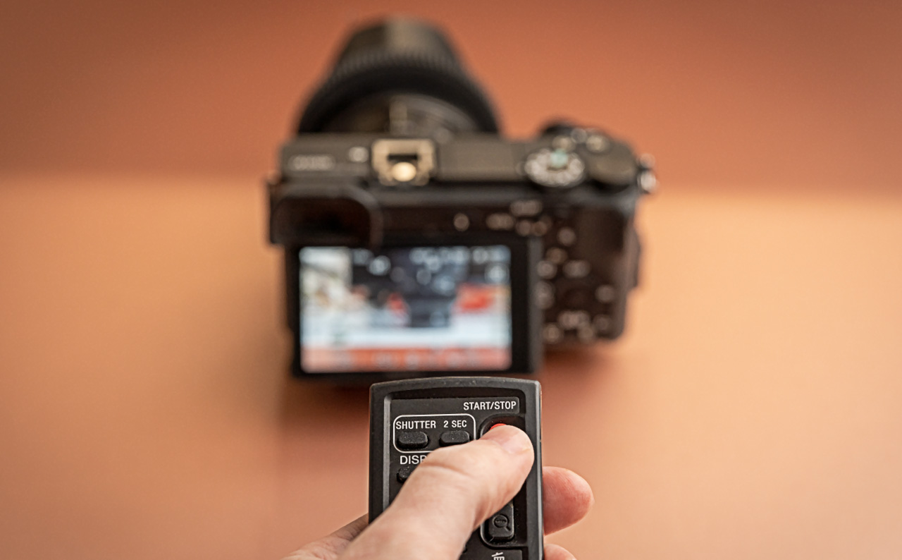 Working with the Sony RMTDSLR2 remote