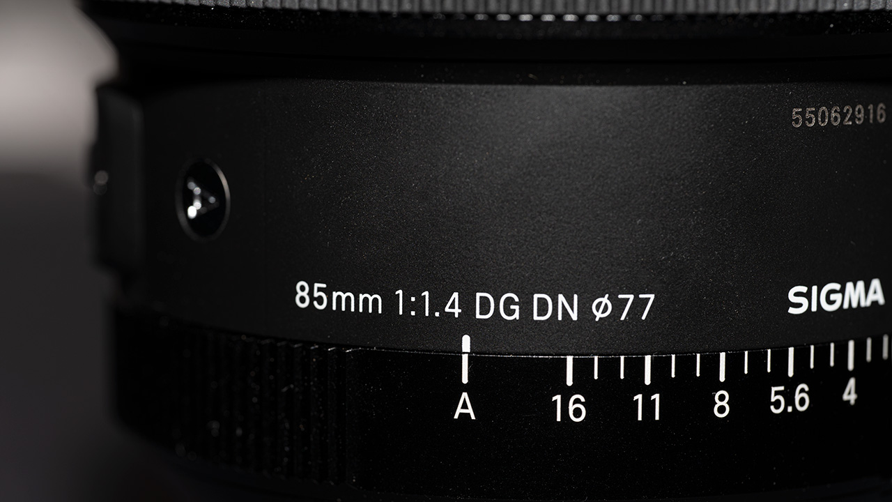 The Aperture A mode (for controlling the aperture from the camera)