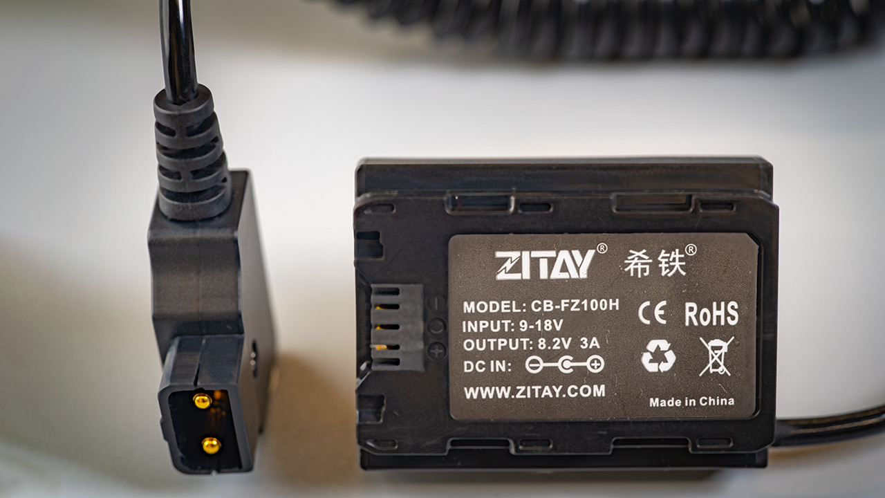 Useful dummy battery to D-tap