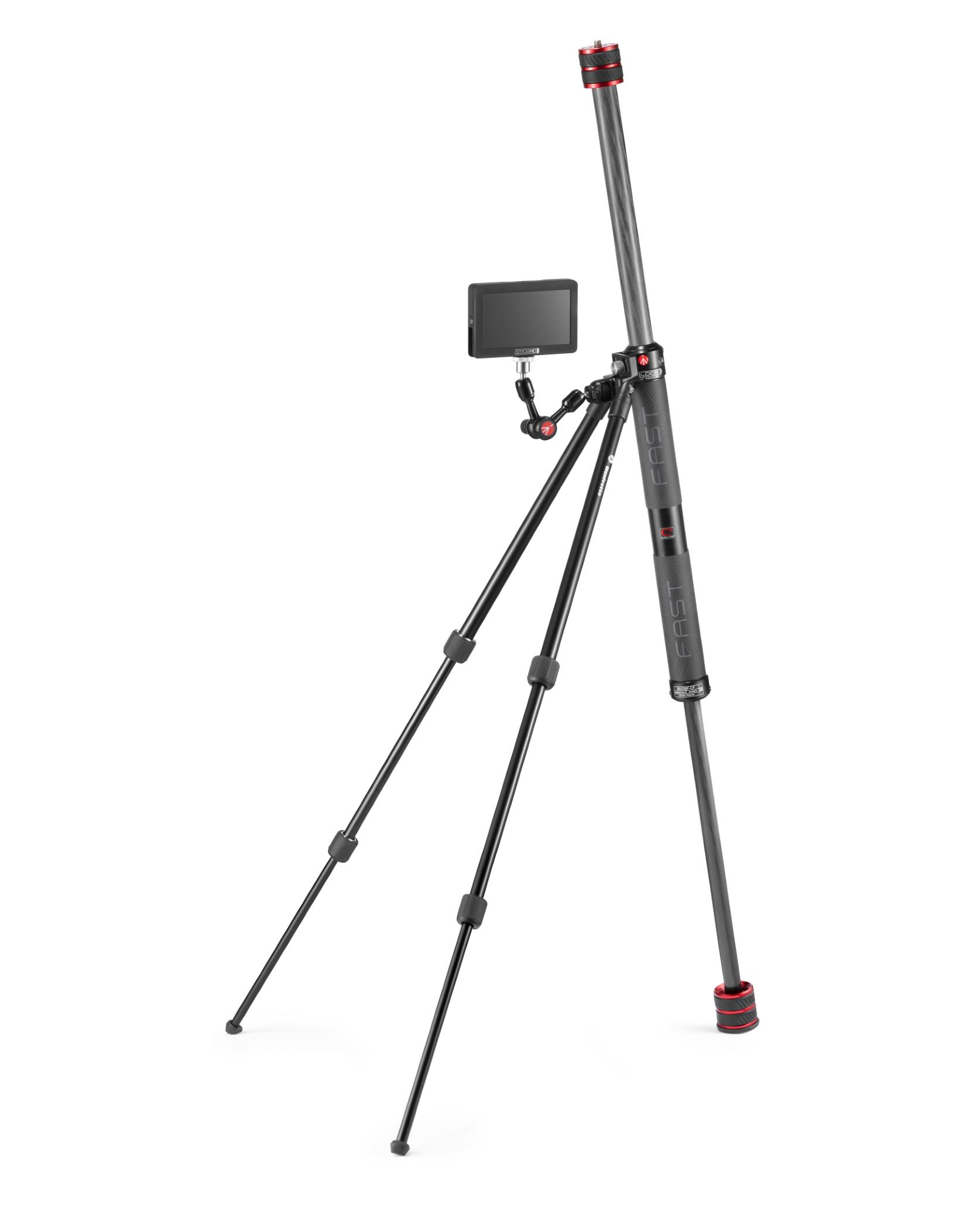 The Gimboom with the accessory attachment and the new legs